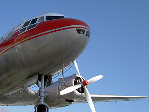 Nose of Ilyushin IL-14P Census.JPG