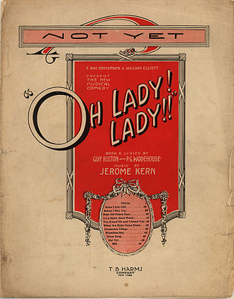 Guy Bolton - Sheet music from Oh, Lady! Lady!! (1918)