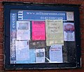 Notice board, the Milton Rooms - geograph.org.uk - 842107.jpg