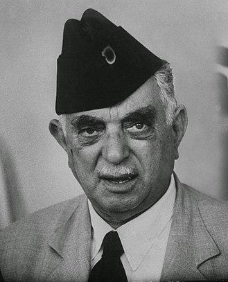 1930 Iraqi parliamentary election - Image: Nouri Al Saeed, 1950s