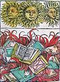 Nuremberg chronicles - Suns and Book Burning (XCIIv).jpg