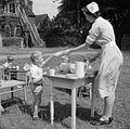 Nursery School- Life at the Old Manor House, Wendover, Buckinghamshire, England, 1944 D21112.jpg