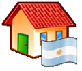 Nuvola filesystems folder home Argentina.png
