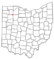 Location of Belmore, Ohio