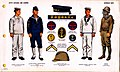 ONI JAN 1 Uniforms and Insignia Page 074 Japanese Navy WW2 Petty officers and seamen. Fatigue uniform, sailor suit, dress and service caps, marine, gas mask, badges, insignia, etc Sept 1943 Field recognition. US public doc. No known cop.jpg