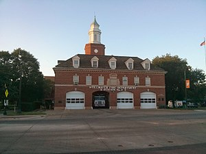 National Register of Historic Places listings in Payne County, Oklahoma - Image: OSU Campus Fire Station 02