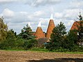 Oast House, Hale Farm, Hartlake Road, Tudeley, Kent - geograph.org.uk - 557852.jpg