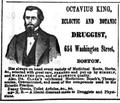 OctaviusKing Druggist WashingtonSt BostonDirectory 1861.png