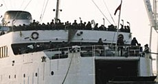 JNA personnel on ship