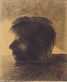 Odilon Redon - Orpheus' Kopf auf dem Wasser treibend.jpeg