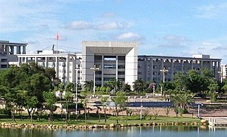 Chongzuo - Office building of the Chongzuo government