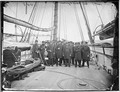 "Officers on deck of the ""Kearsarge"" - NARA - 524868.tif"
