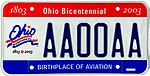 Ohio license plate sample 2001.jpg