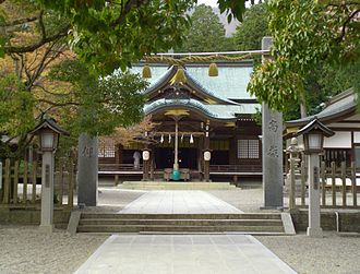 Ōasahiko Shrine - Ōasahiko Shrine's haiden