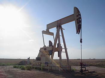 A pumpjack in Texas
