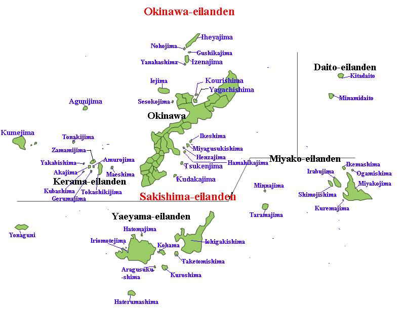 Okinawa en Sakishima-eilanden
