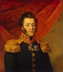 Portrait of Modest M. Okulov (1768-1812)