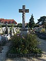 Old Cemetery, listed crucifix, 2018 Balatonlelle.jpg