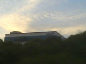 TV9 (Malaysia) - Old Channel 9 Headquarters at Shah Alam, Selangor, Malaysia