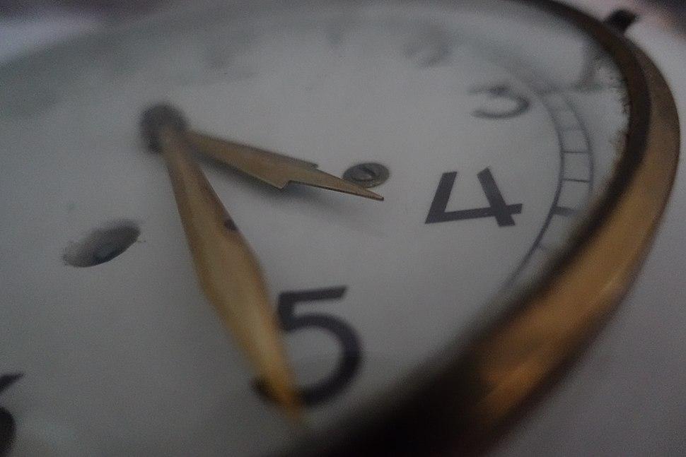 Old Clock Close Up