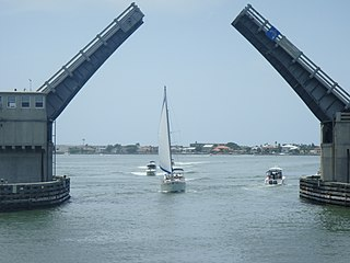 Pinellas Bayway Highway in Florida, United States of America