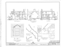 Old Stone House, 3051 M Street Northwest, Washington, District of Columbia, DC HABS DC,GEO,3- (sheet 2 of 3).png