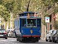 Old tram at Barcelona pic01.JPG