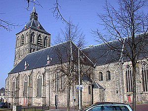 Oldenzaal - The Basilica of St Plechelm.