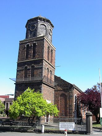 West Melbourne, Victoria - St James Old Cathedral