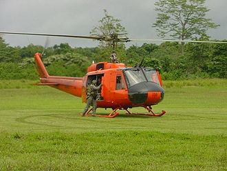 History of Bougainville - Australian Huey helicopters in Bougainville