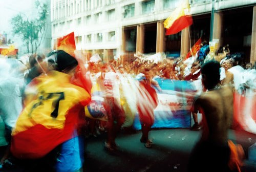 Opening walk of 2002 World Social Forum