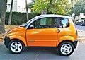 Orange car in Poznan Abisynia (1).jpg