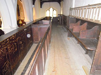 Orb (optics) - Orbs photographed in the Church of St Leonard at Old Warden in the UK