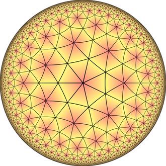 Truncated order-7 triangular tiling - Image: Order 3 heptakis heptagonal til