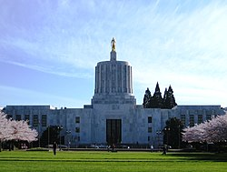 Oregon State Capitol Building 900 Court Street Salem Oregon