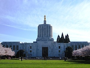 Oregon Legislative Assembly - Image: Oregon State Capitol 1