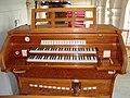 Orgelmanualen, Västervåla kyrka.jpg