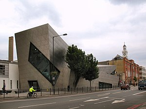 Holloway, London - Daniel Libeskind's Orion Building, London Metropolitan University on Holloway Road