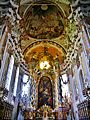 Osterhofen Basilika St. Margareta Innen Chor 2.JPG