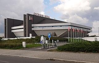 Ostravar Aréna indoor arena in Ostrava, Czech Republic