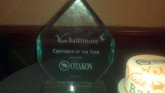 "Otakon - Otakon 2011 Visit Baltimore ""Customer of the Year"" Award"