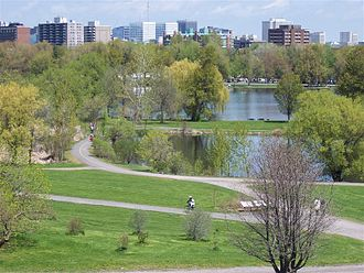 Dominion Arboretum - Dominion Arboretum along the Rideau Canal in Ottawa.