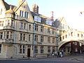 Oxford - Hertford College and Bridge of sighs.JPG