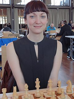 Elisabeth Pähtz German chess player