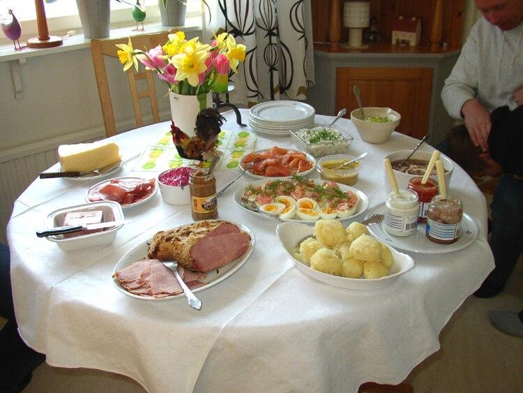 Påskmiddag-Swedish Easter dinner