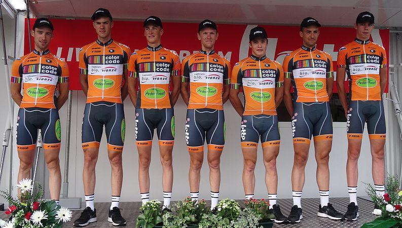 Péronnes-lez-Antoing (Antoing) - Tour de Wallonie, étape 2, 27 juillet 2014, départ (C020).JPG