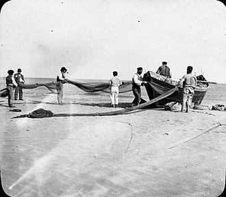 Saint-Jean-de-Luz - Fishermen from St Jean de Luz