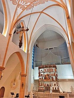 Püttlingen, Liebfrauenkirche (Haerpfer-Orgel, Prospekt) (5).jpg