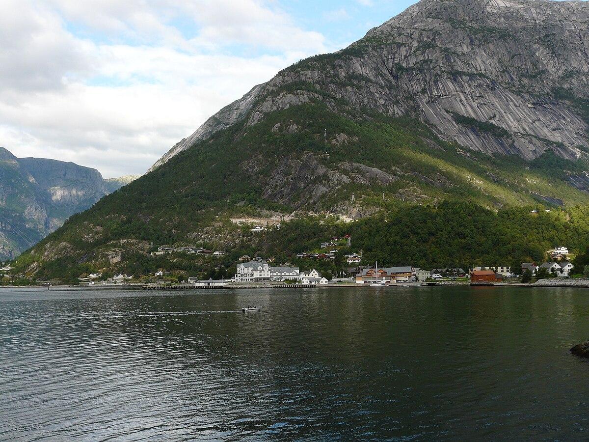 Eidfjord Reisef 252 Hrer Auf Wikivoyage