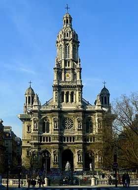 Image illustrative de l'article Église de la Sainte-Trinité (Paris)